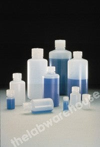 BOTTLE NALGENE HDPE N/MOUTH WITH PP SCREWCAP 125ML
