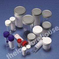 STERILIN CONTAINERS ST. PS METAL CAP PLAIN LABEL 100ML PK200
