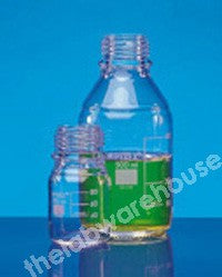 REAGENT BOTTLE PYREX W/MOUTH NO CAP OR RING 100ML
