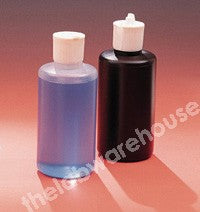 DISPENSING BOTTLE NATURAL PE AND PIVOTING NOZZLE 250ML