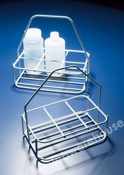 BOTTLE CARRIER COATED STEEL WIRE FOR UP TO 6X60MM DIA BOTTLE