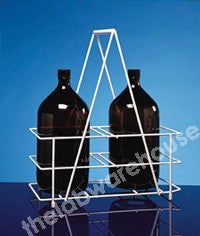 BOTTLE CARRIER COATED STEEL WIRE FOR 2X2.5L WINCHESTERS
