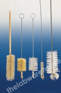BRUSH BRISTLE HEAD ON WIRE HANDLE FOR 10ML BURETTE PK 10