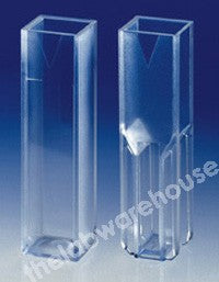 CELLS DISPOSABLE UV CUVETTE SEMI-MICRO 10MM PTH PK.100