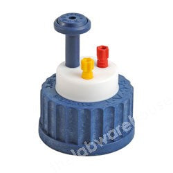 SAFETY CAP ST. TYPE GL45 FOR 2 X 3.2MM O.D. TUBING