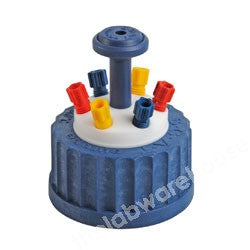 SAFETY CAP ST. TYPE GL45 FOR 6 X 3.2MM O.D. TUBING