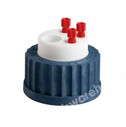 SAFETY WASTE CAP TYPE GL45 FOR 3 X 2.3/3.2MM O.D. TUBING