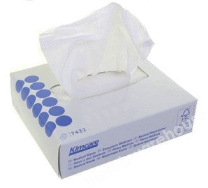 MEDICAL WIPE TISSUES KIMCARE SMALL 186X108MM BOX 80