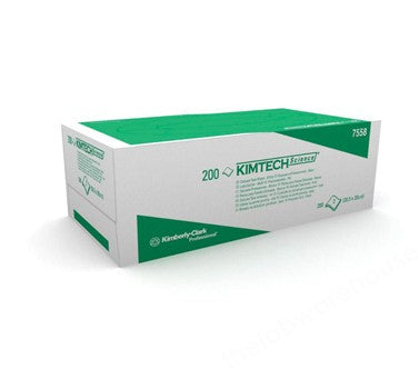 PROFESSIONAL TISSUES KIMTECH 200X213MM CARTON 200