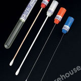 CULTURE SWABS COTTON TIP WOOD STICK BLACK CAP PK 100