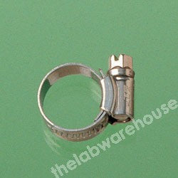 WORM DRIVE CLIP ZINC COATED STEEL FOR 22-30MM O.D. TUBING