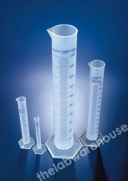 CYLINDER PP CL.B PRINTED GRAD'S AND SPOUT 500ML