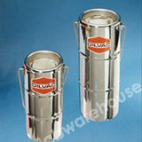 DILVAC FLASK ST./STEEL OPEN TOP WITH HANDLE 2L