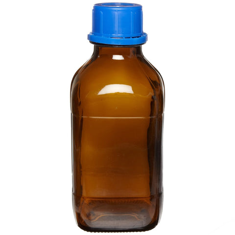 BOTTLE AMBER GLASS 1L GL45 FOR DK150/DK282 DISPENSERS