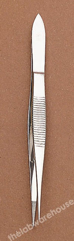FORCEPS ST./STEEL FINE PT. SPR. FLUTES, GUIDE PIN STR. 115MM