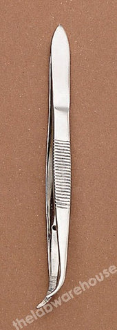 FORCEPS ST./STEEL FINE PT. SPR. FLUTES, GUIDE PIN CRV 115MM