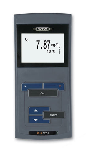 DISSOLVED OXYGEN METER WTW OXI3205 WITH BATTERIES