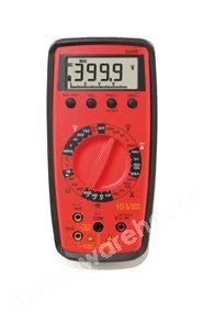 DIGITAL POCKET SIZE MULTI METER WITH TEST LEADS AND BATTERY