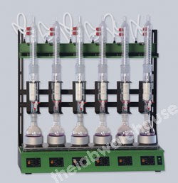 COMPACT SOXHLET EXTRACTION SYSTEM 6 X 100ML 230V 50/60HZ AC