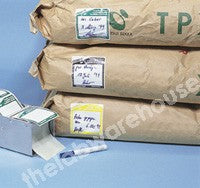 CLOSE-IT LABELS 150 X 150MM GREEN ROLL OF 250