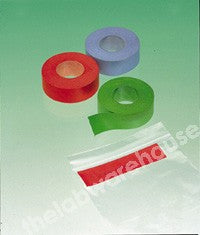 IDENTI-TAPE SELF ADH. RED ON ROLL 19MM WIDEX12M LONG