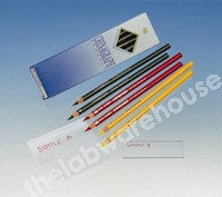 CHINAGRAPH PENCILS BLACK PACK OF 12