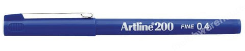 INK MARKERS ULTRAFINE 0.3MM POINT BLUE PK.12