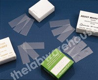 MICROSCOPE SLIDES SUPERIOR 76X26X1.2/1.5MM 2 CAVITIES BX 50