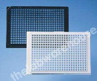CLEAR-BASE MICROPLATES BLACK 384 X 120uL WELL PK.50