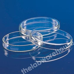 PETRI DISH RESISTANCE GLASS 94 X 20MM BASE DIA. X DEPTH