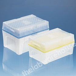 PIPETTE TIPS YELLOW 2-200µL TIPBOX SET 5 RACKS X 96 TIPS