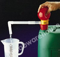OTAL PUMP/SIPHON 14 L/MIN. PP WITH PVC 30/70 STOPPER
