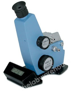ABBE REFRACTOMETER B&S ABBE 5 MANUAL WITH BATTERY