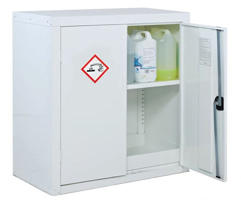 ACID AND ALKALI STORAGE CABINET 2-DOOR 700X900X460MM