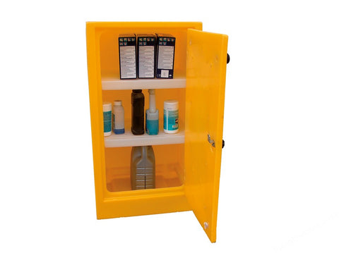 ACID AND ALKALI STORAGE CABINET PSC1 RIGID PE 990X440X545MM