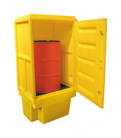 ACID AND ALKALI STORAGE CABINET PSC3 RIGID PE 1835X920X720MM