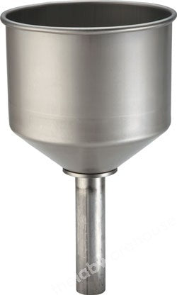 SAFETY FILLING FUNNEL STAINLESS STEEL STRAIGHT PLUG-IN