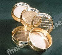TEST SIEVE 200MM DIA BRASS FRAME, ST./STEEL MESH 1.40MM