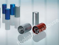 LAB-O-CAP CLOSURES FOR 15-16MM TUBES RED PK.100