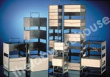 CRYOBOX RACK ST./STEEL WITH HANDLE 9 SHELVES FOR TP453-40