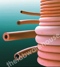 TUBING NATURAL RED RUBBER HEAVY WALL H5 COIL OF 10 METRES