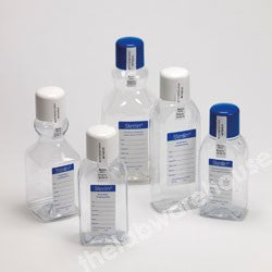 SAMPLE BOTTLES STERILIN 500ML PET SQUARE UNDOSED PK.108