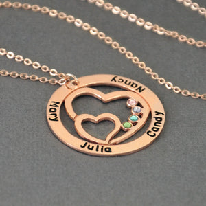 Couple's Name Pendant