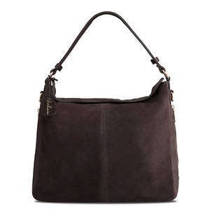 Real Suede Leather Tote Bag