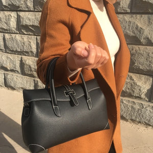 Leather Simple Shoulder Bag
