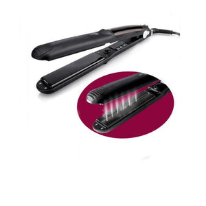 Salon professional steam hair straightener