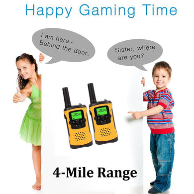 Kids Walkie Talkies With Flashlight and LCD Screen.