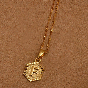 Initial Alphabet Necklace