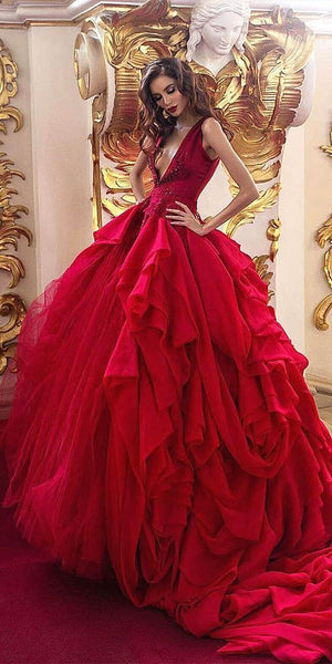 Enchanting Red Gown