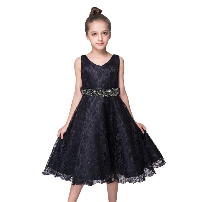 Flower Exquisite 9 Color Girls Dress